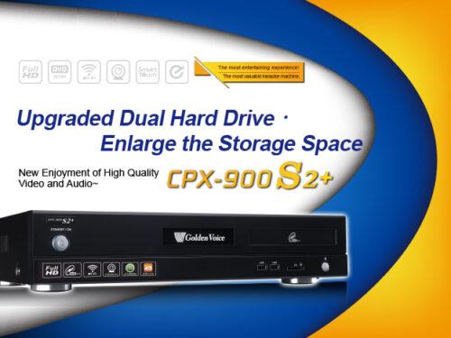 CPX-900 S2+ DM